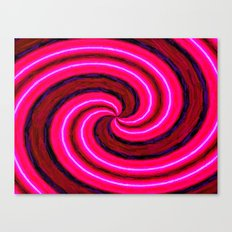 Abstract Pink Modern Canvas Print