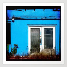 So Very Blue Art Print