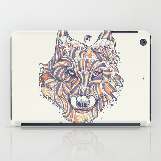Wave Wolf iPad Case