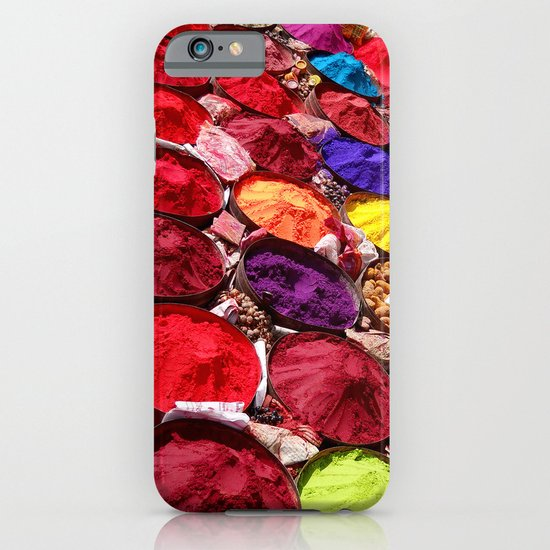 Indian powders iPhone & iPod Case