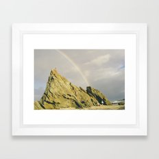 Chasing Rainbow Framed Art Print