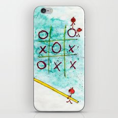 Tic Tac Toc Win Win! iPhone & iPod Skin
