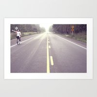The Open Road Art Print