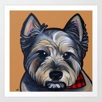 Rigoletto The Cairn Terr… Art Print