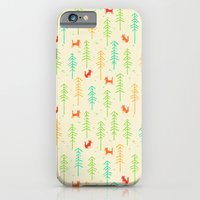 Foxes Hiding In The Fore… iPhone 6 Slim Case