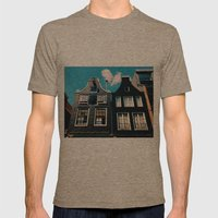 oh those houses ^_^  Mens Fitted Tee Tri-Coffee SMALL