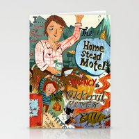 Music Collage Stationery Cards