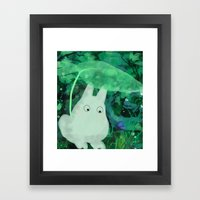 Friend In Need Framed Art Print
