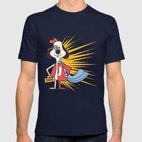 Underdog! Mens Fitted Tee Navy SMALL