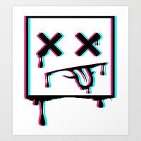 Dead Pixel CMK Art Print