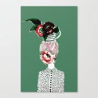 Tea Girl Canvas Print