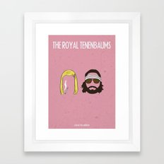 The Royal Tenenbaums Framed Art Print