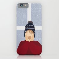 iPhone & iPod Case featuring Home Alone by Robert Scheribel