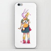 Nice backpack! iPhone & iPod Skin
