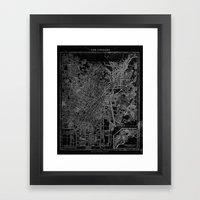 Los Angeles, California,… Framed Art Print