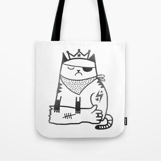 My cat hates me Tote Bag