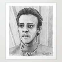doctor Art Prints featuring Doctor by bravinto