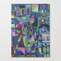 Cool Spectrum Canvas Print
