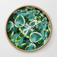 50 Shades of Green (7) Wall Clock
