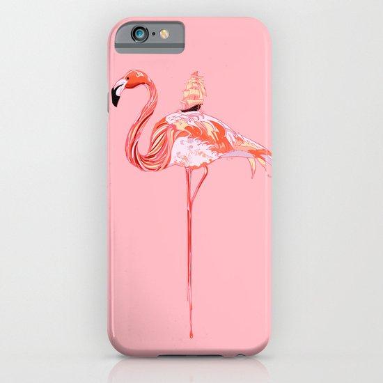 Flamingo & Sea iPhone & iPod Case