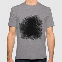 Amorphous 3 Mens Fitted Tee Athletic Grey SMALL