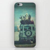 NEVER STOP EXPLORING II iPhone & iPod Skin
