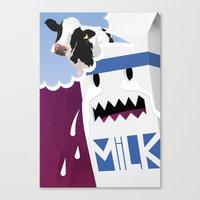 Where's the Milk? Canvas Print
