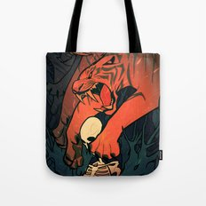 Weretiger - Hot Tote Bag