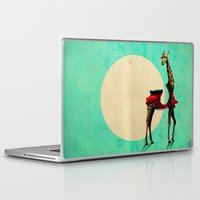 giraffe Laptop & iPad Skins featuring Giraffe by Ali GULEC