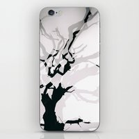 Lightning Tree iPhone & iPod Skin