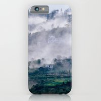 iPhone Cases featuring Foggy Mountains - Sa Pa - VIETNAM by CAPTAINSILVA