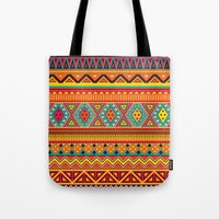 Aztec Pattern Tote Bag