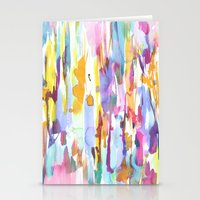 dance Stationery Cards featuring Dance by Amy Sia