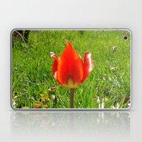Red Tulip Laptop & iPad Skin