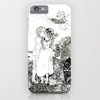iPhone & iPod Case featuring The Wedding by Claire Astra
