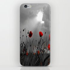 Only poppies... iPhone & iPod Skin