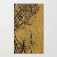 Destruction Vs Creation Canvas Print