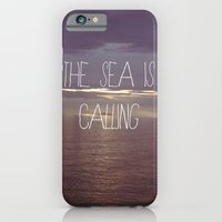 iPhone & iPod Case featuring The Sea Is Calling by Ian James