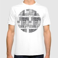 Monochrome Forover Mens Fitted Tee White SMALL