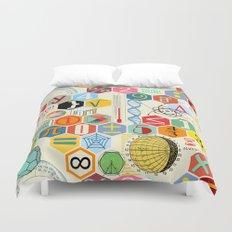 Math in color Duvet Cover