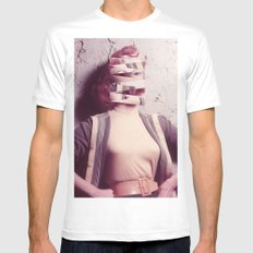 Barbie SMALL Mens Fitted Tee White