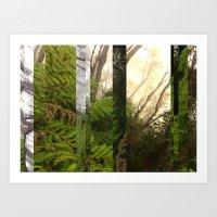 Rainforest No.10 Art Print
