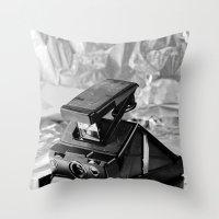 Polaroid SX-70 Throw Pillow
