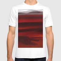 Shadows Of Heaven Mens Fitted Tee White SMALL