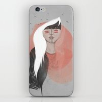 The Black Raven iPhone & iPod Skin