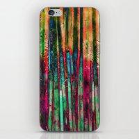 Colored Bamboo iPhone & iPod Skin