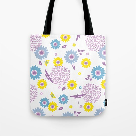 Summer Buzz Tote Bag