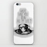 Long Lost Coffee iPhone & iPod Skin