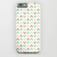 Pattern: Olive + Peach Arrows iPhone 6 Slim Case