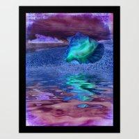 Tropical Dreaming Art Print